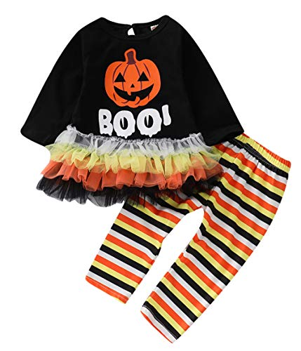 C&M Wodro Baby Girls Halloween Clothes Toddler Infant