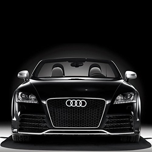 Audi A4 Abs Light (Bearfire Cool LED Emblem Logo Grid LED Badge Front Light For AUDI A3 S3 RS3 A4 A5 A6(white))