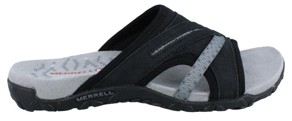 Merrell Women's Terran Slide II Sandal, Black, 8 M US