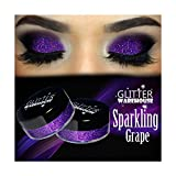 Sparkling Grape GlitterWarehouse Purple Holographic Loose Glitter Powder Great for Eyeshadow / Eye Shadow, Makeup, Body Tattoo, Nail Art and More!