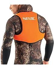 SEAC Weight Vest Chaleco para plomos, apnea y Snorkel, Unisex Adulto