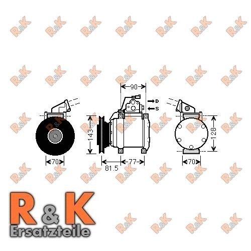 Prasco mtk216/Compresor aire acondicionado