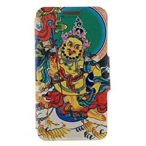 DD Kinston Religious Pattern Three Pattern PU Leather Full Body Case with Stand for iPhone 5/5S