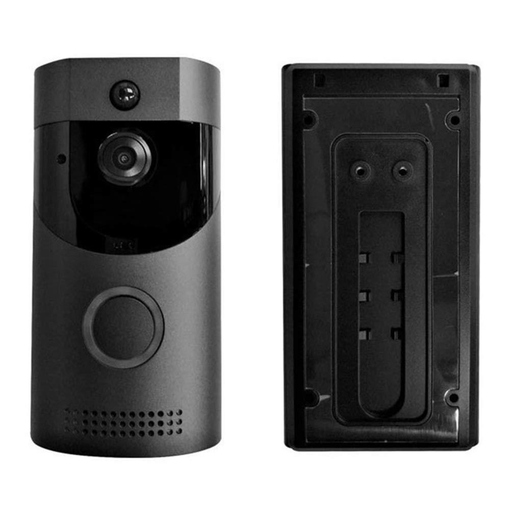 LINANNAV Video doorbell wireless WiFi remote monitoring waterproof smart doorbell