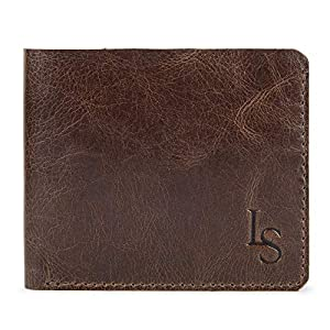 LOUIS STITCH Italian Luxury Leather Wallet for Men | Men's Wallet Genuine Leather | Credit Card Holder Cum Wallet Ultra Slim and Comfortable