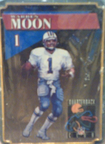 (NFL Quarterback Club Warren Moon Commemorative Tin with Playing Cards)