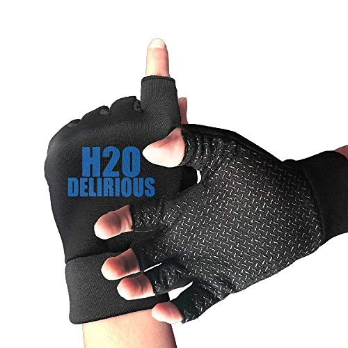 - Motorcycle Shockproof H2O Delirious Half Finger Short Gloves Outdoor Sports Working Gloves