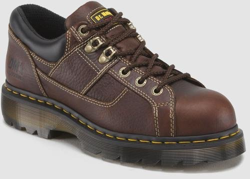 Dr. Martens Gunby Steel Toe Shoe,Teak,10 UK/12 M US Women's/11 M US Men's by Dr. Martens