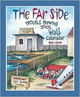 amazon co jp the far side trouble brewing calendar far side 本