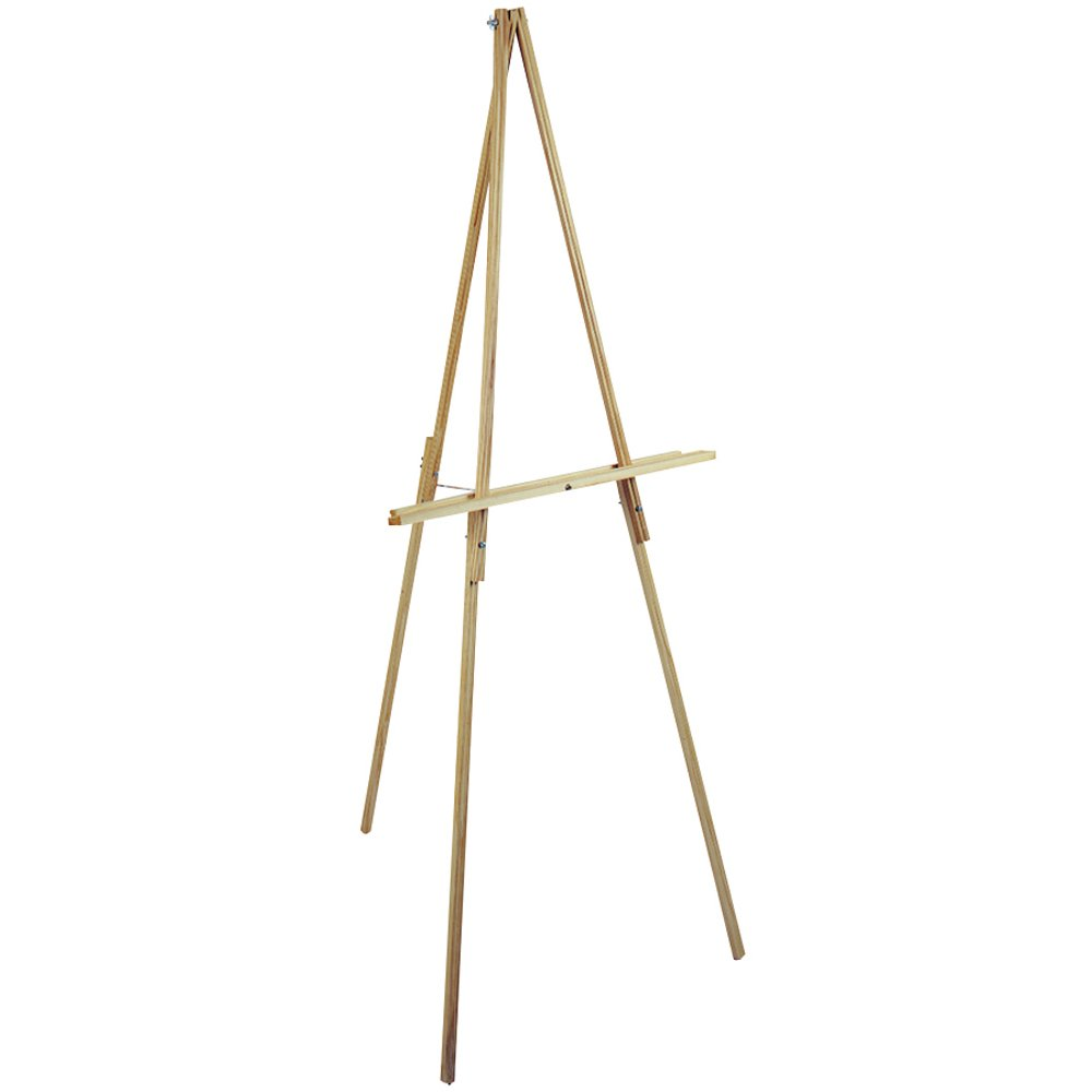 Loew-Cornell 65-Inch Natural Wood Floor Easel by Loew-Cornell