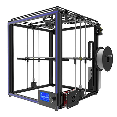 Tronxy X5S 3D Printer Kit with SD Card, Precise Large Printing Size 300x300x400mm Aluminium Structure High Precision Printing, Dual Z Axis Surpport PLA, ABS, Hips, Wood, PC, PV Filament