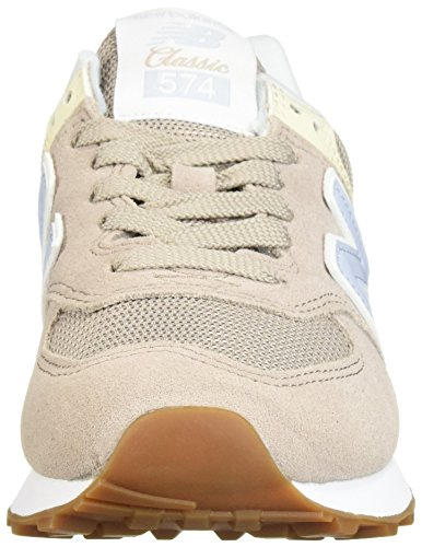 Blue Sneaker Donna Nbwl574mon White ice Balance New Flat Tq066w