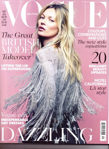 British VOGUE - Kate Moss Cover - May - Kate Vogue Moss