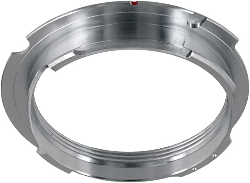 M9 Fotodiox Lens Mount Adapter M39 fits Leica M-Monochrome M10 and Ricoh GXR Mount A12 39mm x1, Thread Leica Screw Mount M9-P Lens to Leica M Adapter with 50mm//75mm Frame Line M8.2