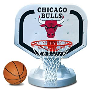 Poolmaster 72904 Chicago Bulls NBA USA Competition-Style Poolside Basketball Game