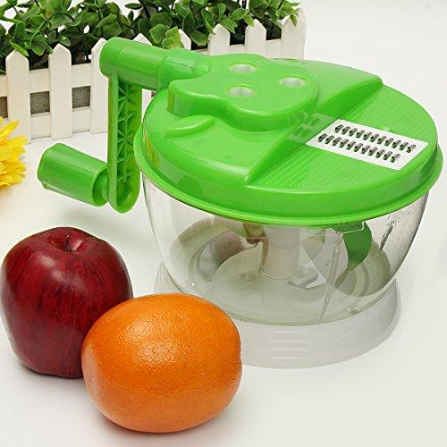 Sorliva Kitchen Chopper,Stainless Steel Blade!Top Slicer!Meat Cutter Vegetable Fruit Chopper
