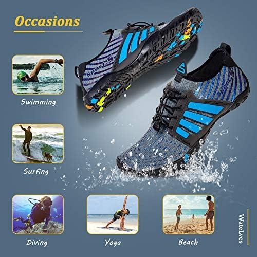 51PT27OwrHL. AC Water Shoes Mens Womens Beach Swim Shoes Quick-Dry Aqua Socks Pool Shoes for Surf Yoga Water Aerobics    Product Description