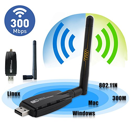 wireless usb wifi adapter eeekit 300mbps wireless usb. Black Bedroom Furniture Sets. Home Design Ideas