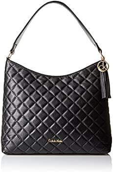 Calvin Klein Quilted Pebble Hobo