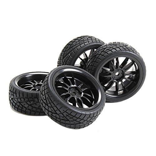 1 10 Rc Car Wheels : Rc car rims and tires skyq wheels plastic spoke for