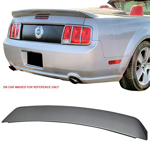 Alloys Spoiler - Pre-painted Trunk Spoiler Fits 2005-2009 Ford Mustang | OE Style ABS Painted Alloy #G5 Trunk Boot Lip Spoiler Wing Deck Lid Other Color Available By IKON MOTORSPORTS | 2006 2007 2008