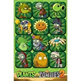 (22x34) Plants vs. Zombies 2 Video Game Poster