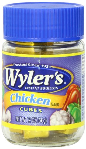 Bouillon Chicken Recipes (Wyler's Instant Bouillon, Chicken Cubes, 2 Ounce)