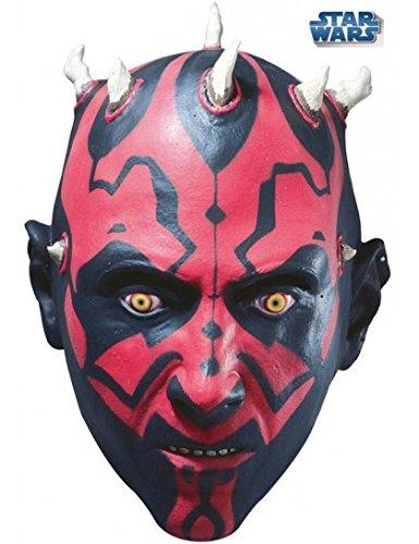 [Darth Maul 3/4 Mask Costume Accessory] (Child Darth Maul Costumes)