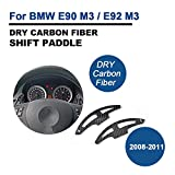 TGFOF Dry Carbon Fiber Shift Levers Paddles for BMW M3 E90 E92 2008-2011