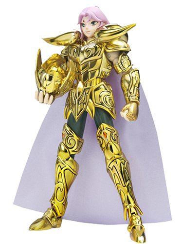 Saint Seiya - Aries Mu Gold Cloth Myth Action Figure - Gold Saint