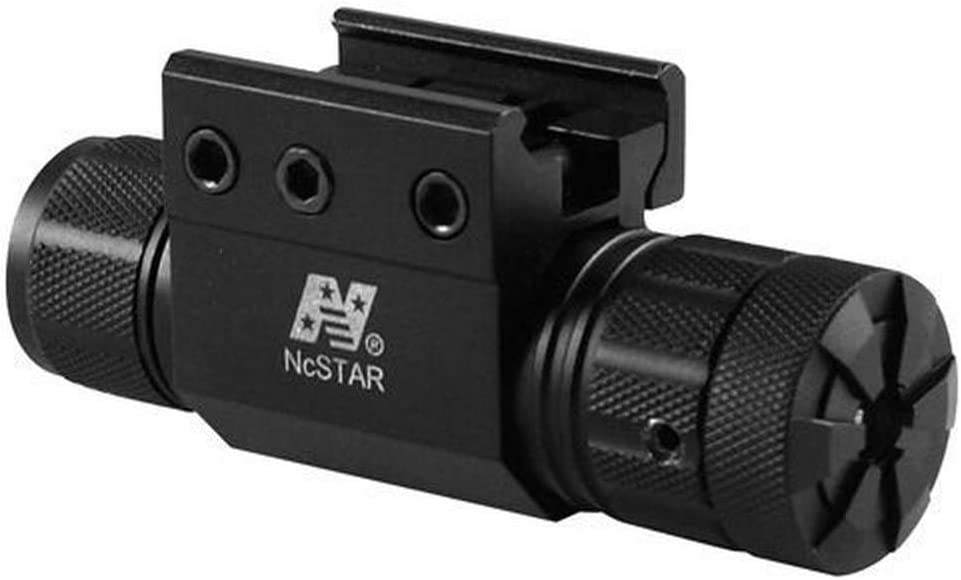 NcStar Pistol and Rifle Green Laser with Weaver Mount Pressure Switch (APRLSMG),Black