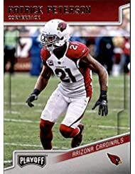 2018 Playoff Football #4 Patrick Peterson Arizona Cardinals Official NFL Trading Card made by Panini