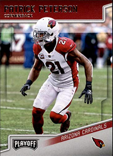 2018 Playoff Football #4 Patrick Peterson Arizona Cardinals Official NFL Trading Card made by Panini - Nfl Bowman Chrome Trading Cards