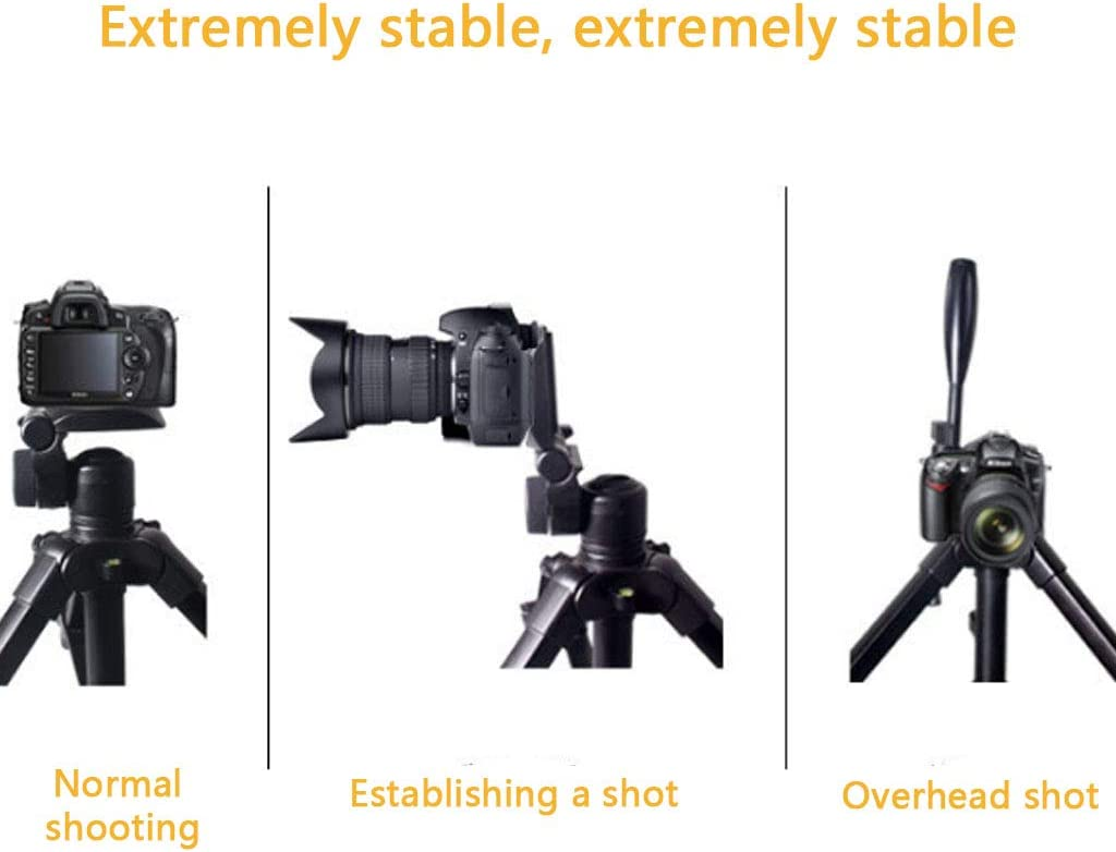 can be Used as Trekking Pole Light Travel Black QQAA Light Camera Stand Live Broadcast Projector Stand with monopod SLR Camera Tripod