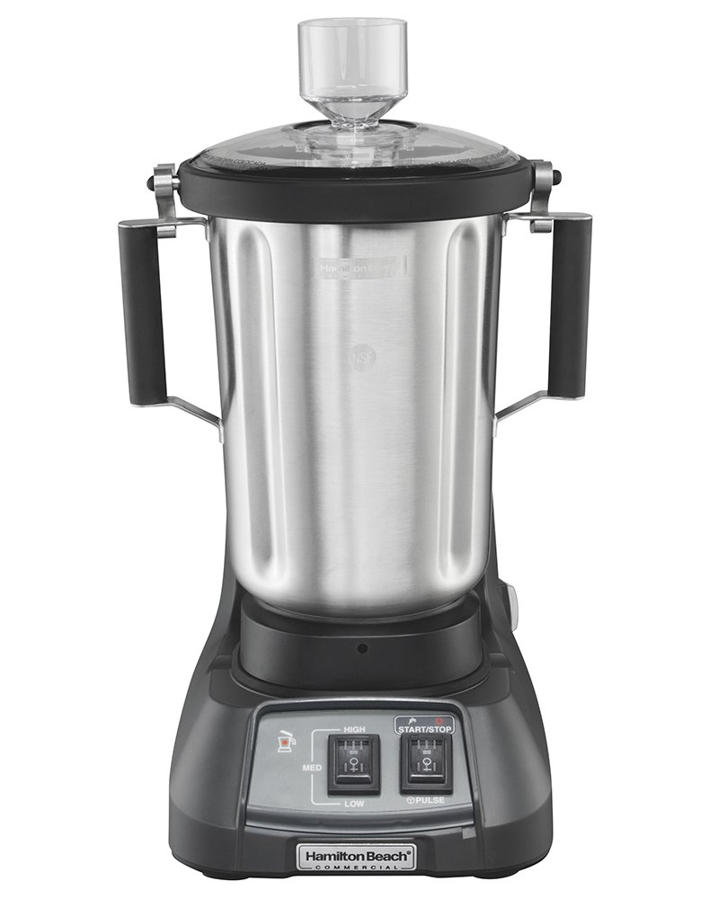 Hamilton Beach Commercial HBF900S Expeditor Culinary Food Blender, Stainless Steel, 3.5 Horsepower