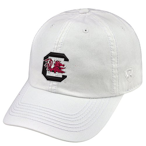 Top of the World South Carolina Fighting Gamecocks Men's Hat Icon, White, - University Carolina Hats South