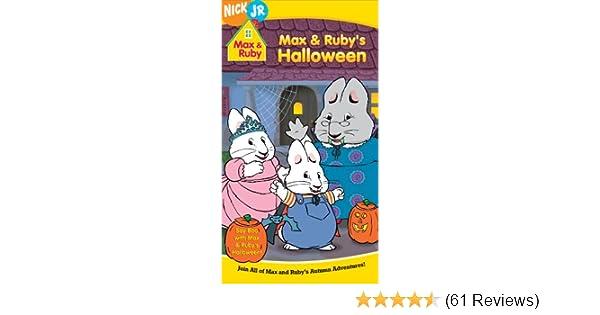 Amazoncom Max Rubys Halloween Vhs Jamie Watson Rebecca