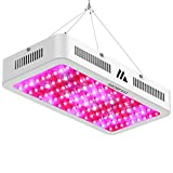 LED Grow Light, Full Spectrum 1200W with UV and IR Flower Growing Lamp of Medicinal Plants Double Chips for Indoor Greenhouse Hydroponic Plant (10W Leds 120pcs)