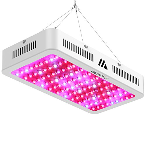 LED Grow Light, Full Spectrum 1200W with UV and IR Flower Growing Lamp of Medicinal Plants Double Chips for Indoor Greenhouse Hydroponic Plant (10W Leds 120pcs) by Growfast