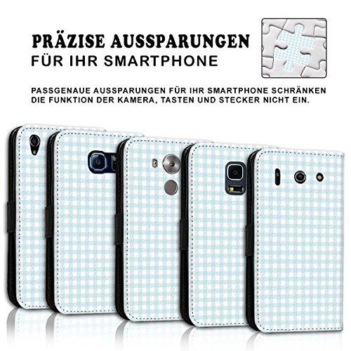 Wallet Book Style Flip Handy Tasche Case Schutz Hülle Schale Motiv Etui für Apple iPhone 6 Plus / 6S Plus - Design Flip MV282