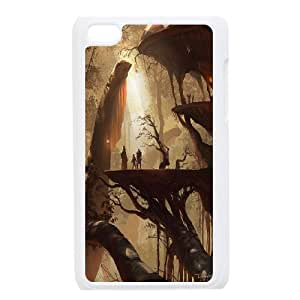 Concept village,city Pattern Hard Case Cover for For ipod Touch Case 4 FKGZ463349
