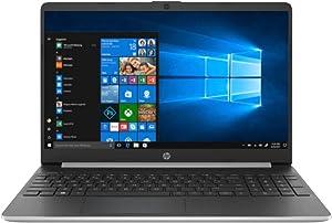 2019 HP 15.6-inch Full HD 15t Laptop PC, 10th Gen Intel Dual Core i3-1005G1 Processor, 8GB DDR4 Memory, 256GB PCIe SSD, No DVD, Bluetooth, Windows 10, Silver