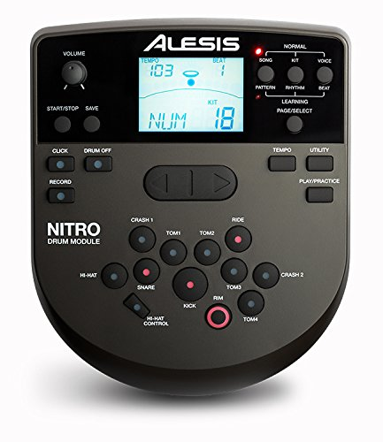 Alesis NITRO Drum Module - with Cable Snake Harness and Power Adapter by Alesis