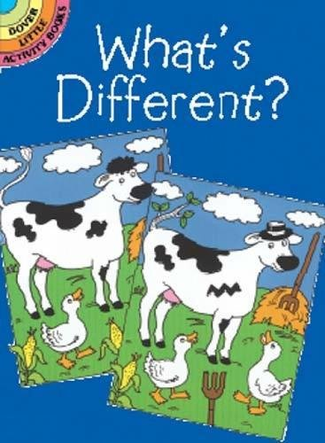 What's Different? (Dover Little Activity (Purse Pocket Book)