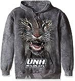 The Mountain Mens U of New Hampshire Bf Unh Wildcat-Adult Hoodie Sweatshirt