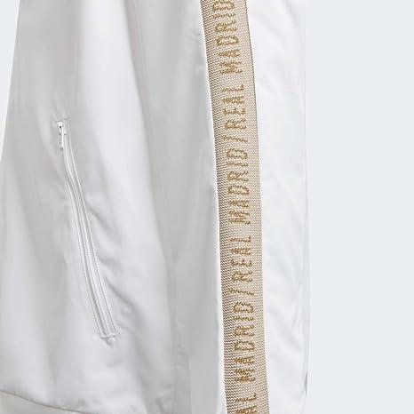 adidas Real Madrid Anthem Jacket Teens - Chaqueta Niños: Amazon.es ...