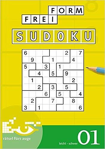 Freiform Sudoku 01 Amazonde Conceptispuzzles Bücher