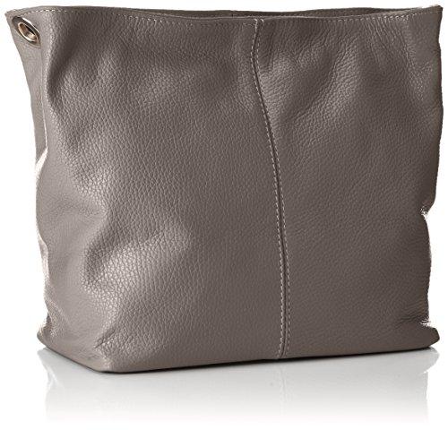hombro Dunkelgrau Shoppers Josy Gris y Mujer bolsos Bags4Less de 4XP8qxA