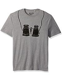 Original Penguin Men's Short Sleeve Binoculars Tee