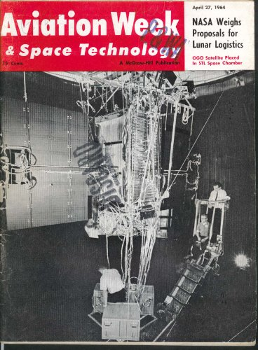 (AVIATION WEEK & Space Technology BAC 111 Series 400 Swiss Mirage NASA 4/27 1964)